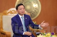 Bộ trưởng TN-MT: Năng lượng 'xanh' và kinh tế tuần hoàn siêu bền vững