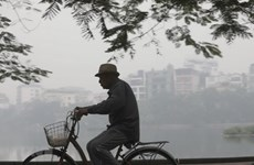 Chất lượng không khí của Hà Nội vẫn ở mức xấu, không tốt cho sức khoẻ