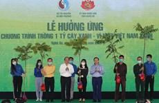 Bộ trưởng Trần Hồng Hà: Hãy trồng cây như món quà cho con cháu mai sau