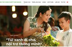 Ra mắt trang thông tin chiến dịch 'Chung tay giảm chất thải nhựa'