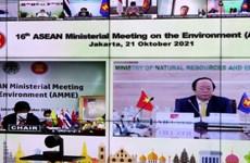 Việt Nam kêu gọi ASEAN 'chung sức' giải quyết các vấn đề ô nhiễm