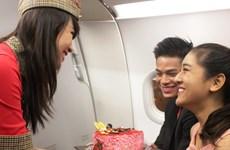 Ngày Tình Nhân bay cùng VietjetAir với giá vé 9.000 đồng