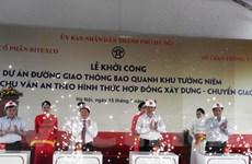 1.475 tỷ đồng làm đường khu tưởng niệm Chu Văn An