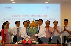 TTXVN ký kết hợp tác với Ủy ban An toàn giao thông Quốc gia