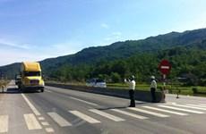 Quốc lộ 1 đoạn Vinh-Hà Tĩnh mới khánh thành đã bị lún vì xe quá tải