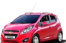 Xe Chevrolet Spark Zest số tự động mới giá chỉ 392 triệu đồng