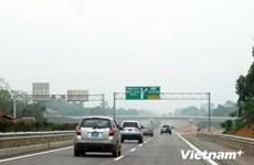 Thông xe thêm gần 25km đường cao tốc Nội Bài-Lào Cai