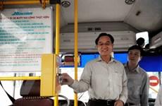 Hà Nội: Thí điểm dùng vé tháng điện tử xe buýt vào ngày 6/10