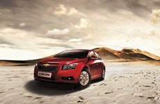 Chevrolet Cruze 2014 ra mắt tại Việt Nam, giá từ 560 triệu đồng