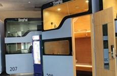Mở lại hoạt động dịch vụ hộp ngủ mini tại sân bay Nội Bài