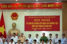 Doanh nghiệp Thái Nguyên đồng loạt ký cam kết không chở quá tải