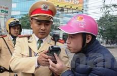 """Cảnh sát giao thông Hà Nội xử lý các """"ma men"""" sau tay lái"""