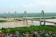 Cầu dây văng dài nhất vượt sông Hồng sẽ mang tên kép