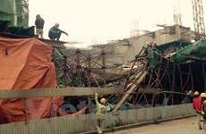 Cảnh cáo Tổng thầu Trung Quốc sau vụ sập giàn giáo đường sắt