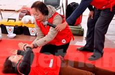 Tập huấn kỹ năng sơ cứu nạn nhân bị tai nạn giao thông