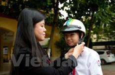 25.000 trẻ em sẽ nhận mũ bảo hiểm chuẩn từ Hoa Kỳ và Quỹ AIP
