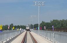 Đường sắt chuyển tuyến sang khai thác trên cầu Sông Bồ mới