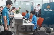 Hành khách Vietnam Airlines có thể lấy thẻ lên tàu bay qua di động