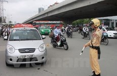 Lùi thời hạn xử phạt đối với xe taxi không gắn thiết bị hộp đen