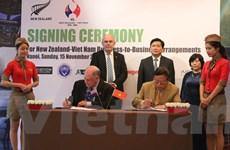 Hàng loạt doanh nghiệp Việt bắt tay hợp tác với New Zealand