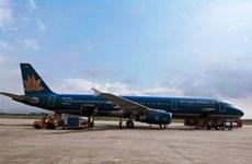 Hỏng thủy lực phanh, máy bay Vietnam Airlines xin hạ cánh ưu tiên