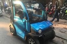Xe ôtô điện rao bán trên mạng không được lưu thông trên đường