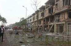 [Photo] Hiện trường kinh hoàng vụ nổ lớn tại Văn Phú-Hà Đông
