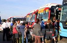 Hà Nội: Tăng cường 700 xe khách chạy dịp nghỉ lễ 30/4 và 1/5