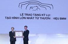 BMW nhận Kỷ lục Guinness về tạo hình lớn nhất từ thương hiệu