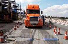 Một tháng xử lý được hơn 5.300 xe vi phạm chở hàng quá tải