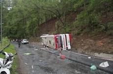 Cấm tất cả các xe lưu thông trên đèo Prenn sau vụ tai nạn thảm khốc