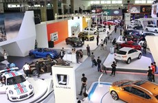 Gần 100 mẫu xe được trưng bày ở triển lãm Vietnam Motor Show