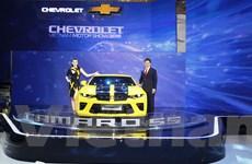 """Cận cảnh """"Ngôi sao Hollywood"""" Chevrolet Camaro SS 2016 tại VMS"""