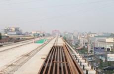 Hợp long tuyến đường sắt trên cao Cát Linh-Hà Đông