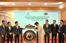 Cảng Đà Nẵng chính thức lên sàn giao dịch chứng khoán Hà Nội