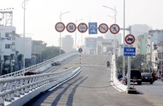 Hà Nội: Thông xe cầu vượt Ô Đông Mác-Nguyễn Khoái vào ngày 26/12