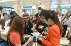 """Jetstar Pacific triển khai dịch vụ """"check-in di động"""" tại sân bay"""