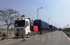 """Đoàn tàu đường sắt Cát Linh-Hà Đông được """"cõng"""" về Hà Nội ra sao?"""