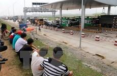 Tạm dừng thu phí trạm BOT trên Quốc lộ 32 qua Tam Nông, Phú Thọ