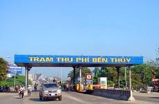 Miễn phí đường bộ cho dân địa phương quanh trạm BOT Bến Thủy