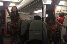 Cấm bay 12 tháng với nữ hành khách chửi bới, gây gổ trên máy bay