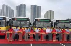 Hà Nội chính thức mở thêm 2 tuyến buýt vươn tới khu vực ngoại thành