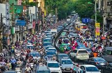 Đa số người Hà Nội muốn cấm xe máy để giảm ùn tắc giao thông