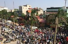 Ùn tắc giao thông tại các đô thị có xu hướng mở rộng và kéo dài