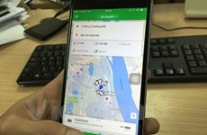 Dừng dịch vụ đi chung xe của taxi Uber, Grab tại thủ đô Hà Nội