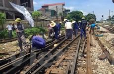 Vụ tàu hỏa trật bánh 2 lần: Hạ tốc độ tàu chạy vào ga Yên Viên