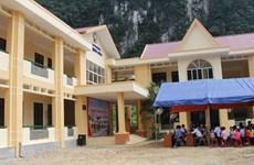 Vietnam Airlines xây trường học cho đồng bào vùng cao Quảng Bình