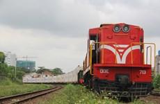 Ngành đường sắt khai thác thêm đoàn tàu hàng container lạnh