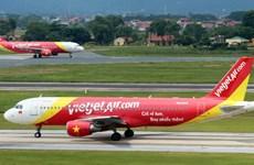 Máy bay Vietjet hạ cánh khẩn tại Nội Bài để cấp cứu hành khách