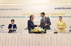Vietnam Airlines 'bắt tay' hợp tác liên doanh với hàng không Pháp